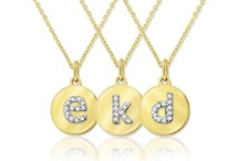 Name & Initial Jewelry / Say it with monogram or initial jewelry. / by Skatells Jewelers
