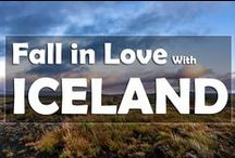 Fall in Love with Iceland / Beautiful images from Iceland - Land of Ice and Fire.