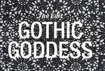 Gothic Goddess: The Edit / The lady is a vamp. Be enchanted by the most wonderfully wicked trend that's charming fashion this autumn/winter and infuse your jewellery box with a little black magic. 