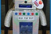 Box Tops / Box Top coordinator ideas