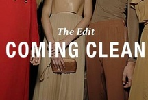 Coming Clean. The Edit / Pared-down chic. Minimalism. Simple luxury. Whatever you call it, a clean palette and discrete look is the cleverest way to dress this season.   Think the Celine, Chloe or Stella McCartney girl and you can't go wrong.  What does that mean for your jewellery box? For the most part, it means uncluttered and modest. One or two key pieces that compliment rather than compete with your look is best practice.   Here's our pick from Charles Fish. Simple.