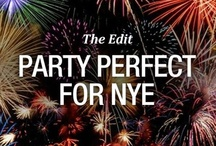 Party Perfect for NYE: The Edit / With Christmas done-and-dusted, it's time to start counting down to New Year's Eve! With only days to go, we've created a particularly fancy Pinterest board in honour of the biggest party of the year. Take a look...