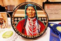 Best of Show (2013) / 2013 Santa Fe Indian Market Best of show recognition went to Jackie Bread #beadwork