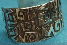 Men's Concho Warrior Belt / Dozens of artists contribute conchos for belts that will be auctioned off at this year's SFIM gala / by SWAIA Santa Fe Indian Market