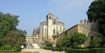 """Tomar, Portugal / Tomar, Portugal and its Convent of Christ, fortifications and aqueduct is a former Knights Templar marvel that should not be missed. In fact, if you can spend an extra day here, on your Portuguese Camino, like we did, your """"rest day"""" may not be all that restful, because there is so much to see!"""