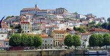 Coimbra, Portugal / A lovely day off between day nine and ten on the Portuguese Way, in this historic university town of Coimbra. Lots to see and do, including churches, shopping streets, old medieval walls, views over the river and the amazing University of Coimbra.
