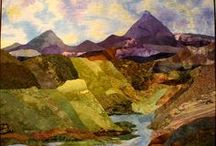 Nature Quilts / From tiny bugs to huge mountains, these quilts beautifully depict the nature all around us.  Enjoy! / by Ellen Lindner - Adventure Quilter