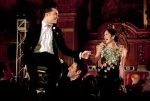 Chuck & Blair / The show pretty much sucks now, but I will never forget the Bar Mitzvah scene to Rolling in the Deep. AMAZING.