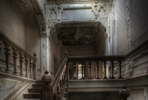 Its old or dark, but its beautiful / Antique or dark decor, rooms, architecture / by Louise Brown