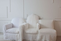 White interiors / by Louise Brown