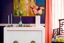 Colour Schemes / Colour combination inspiration for home decor, art and design.