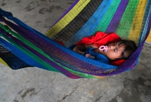 Colorful and innocence by Tania Magenta / some pictures that I took from the boquita beach