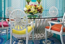 Colorful interiors / by Louise Brown