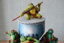 Teenage Mutant Ninja Turtles Party ideas / by Nicole Harrison