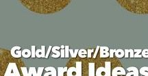 Bronze/Silver/Gold Award Ideas / Inspiration for your Girl Scout's next Bronze, Silver, and Gold awards. Consider it your Girl Scout Take action Guide