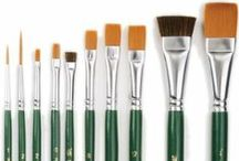 Painting Supplies / by DIY Craft Projects