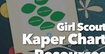 Kaper Chart Ideas / Kaper Charts, we all use them as Leaders, some just use paper forms others create elaborate poster boards. I am always looking for new creative ways to do a Kaper Chart. This board is a collection of some great ones!