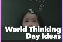 World Thinking Day Ideas / February 22nd every year is World Thinking Day. Here are games, activities and programs to make planning your Girl Scout's troop WTH event with ease.