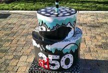 Cakeway to the West / Cakes celebrating the City's Quarter-Millennium / by Tempest Tea