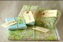 Creative ways to wrap gifts (or ways to wrap creative gifts) / ....after shopping at Cherrywood Art Fair, of course!   December 12 & 13, 2015 Saturday and Sunday 10am – 5pm Maplewood Elementary E. 38 1/2 St. & Maplewood Ave.