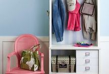 The Portal and Command Center / Entryway ideas/ paper organization / by Hailey Dundas