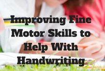 Autism Fine Motor / Activities to help improve fine motor skills