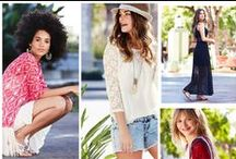 Red, White & Beautiful / BBQs, lazy days and good times are what summer's all about. We're just here to help you dress for the occasion.  / by maurices