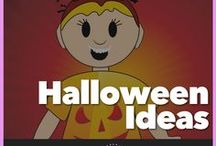 Halloween Ideas / All things Halloween: Choose from a pile of games, crafts, songs, and activities you can use with your Girl Scout Troop or Service unit at a meeting or at a party.