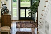 Entryway Ideas / Since the entryway is what your guests will see right away, it is really necessary to set a welcoming tone in your home with a beautifully decorated entryway. Get inspired to create a warm entryway where you want to linger with these ideas!  | Entryways | Entryways ideas | Entryways decor | Entryways + halls | Entryways organization | Modern entryways | Entryways wall | Entryways with stairs | Entryways with benches | Entryways and foyers
