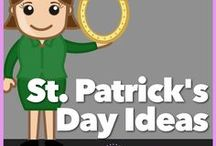 St. Patricks Day Ideas / All things St. Patrick's Day: Choose from a pile of games, crafts, songs, and activities you can use with your Girl Scout Troop or Service unit at a meeting or at a party.
