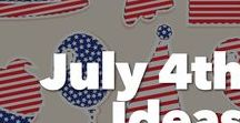 July 4th Ideas / This board is full of fun July 4th ideas to do with your Girl Scout troop.