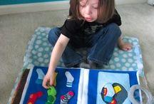 Quiet Books / DIY Quiet Books for toddlers