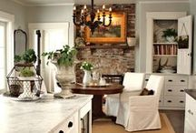 Interior Love / A collection of decor styles and ideas I like, but not necessarily my style. Come sneak a peak through the window... I'm not looking !!!   (*.*) / by Lisa Duran