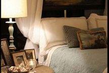 Bedrooms /   (*.*)  / by Lisa Duran
