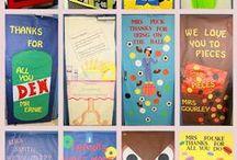Classroom-Bulletin Board And Classroom Door Ideas / by Marti Reid