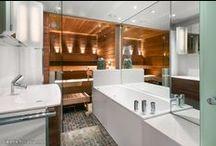 Bathrooms & saunas / Kylpyhuoneet &saunat / Toalett & bastu / Best picks of bathrooms and saunas on Asunnot.oikotie.fi. Get your interior decoration inspiration from here. / Parhaat sauna- ja kylpyhuoneideat löytyvät osoitteesta Asunnot.oikotie.fi