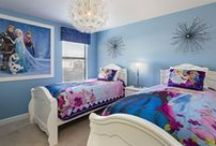 Kids Corner / These vacation rentals cater to kids and those who are young at heart! Princesses and super heroes alike will enjoy these spectacular themed rooms.