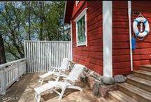 Summer cottages / Kesämökit / Sommarstugor / Best picks of summer cottages on Asunnot.oikotie.fi. Get your interior decoration inspiration from here. / Parhaat ideat kesämökin sisustamiseen löytyvät osoitteesta Asunnot.oikotie.fi