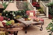 Outdoor Living Spaces / by Lisa Duran