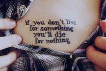Tattoo Idea's / by Kate Alia ჱܓ