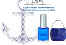 DSW, our Prefered Retailer / All Anise Nail Color is  available at all DSW stores.  DSW always has our latest seasonal collections and the best selection of shoes and accessories to match! / by Anise Nail Fashion