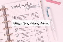 Blog { tips, tricks, ideas } / Blog tips tricks and ideas.