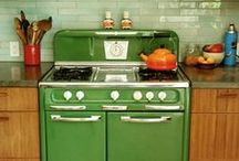 Kitchen / I love to cook! If we ever own property, the kitchen will be our first renovation.