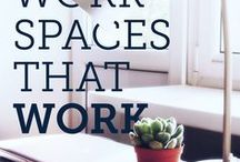 workspaces that work / Our dream office digs.