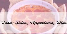 Food: Sides, Appetizers, Dips / Food Sides, Appetizers and Dips
