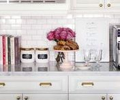 Kitchens / Interior design and decorating ideas for a kitchen and wet bar
