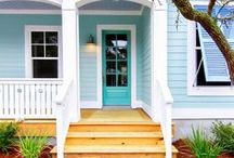 House Exterior / Interior design and decorating ideas for outside of the house - a home exterior