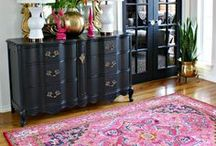 Foyers / Interior design and decorating ideas for an entryway or foyer