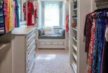 Closets / The best decorating ideas for closets.