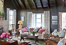Ceilings / Interesting ceilings.  Decorating ideas.